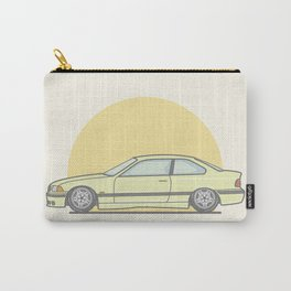 BMW E36 M3 Vector Illustration Carry-All Pouch