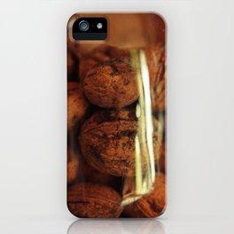 Nuts in a jar iPhone Case