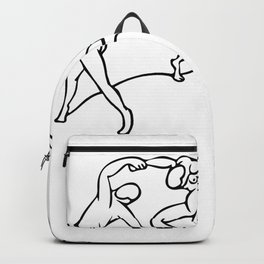 Henri Matisse The Dance and Music Line Artwork Hermitage Sketch For Prints Tshirts Posters Bags Men Backpack