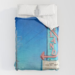 Vintage Neon Sign - Joyland Comforters