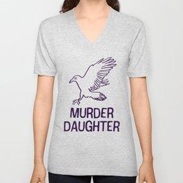 Emily Kaldwin: Murder Daughter Unisex V-Neck