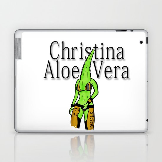 Christina Aloe Vera Laptop & iPad Skin