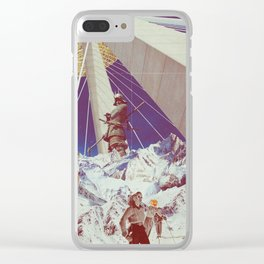 Party At The Top Clear iPhone Case