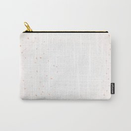 Pink Confetti Falling Carry-All Pouch