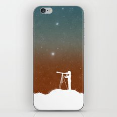 Through the Telescope iPhone Skin