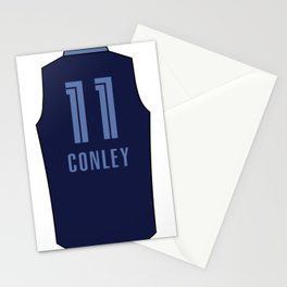 Mike Conley Jersey Stationery Cards