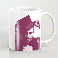 robert downey jr Mugs featuring Mr. Robert Downey Jr. by Arianrhod