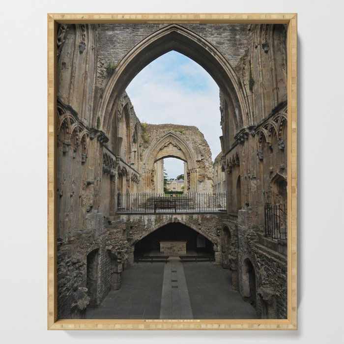 Glastonbury Abbey Serving Tray