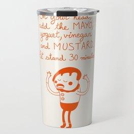 Mayo and Mustard Travel Mug