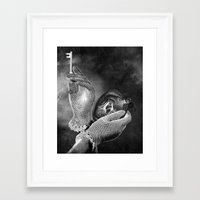 key Framed Art Prints featuring Key by Jaz Henry