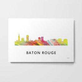 Baton Rouge Louisiana Skyline Metal Print