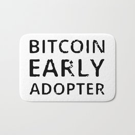 Bitcoin Early Adopter Bath Mat