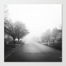 Foggy Morning Canvas Print