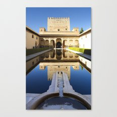 Nazrid Palace Canvas Print