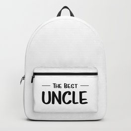The Best Uncle Backpack