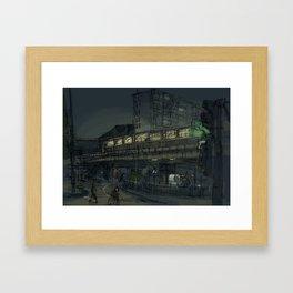 Kottbusser Tor Framed Art Print