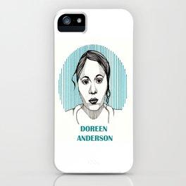 Wentworth | Doreen Anderson iPhone Case