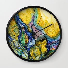 Releasing Temptations Wall Clock