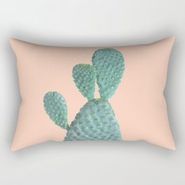 Cactus Watercolor Rectangular Pillow
