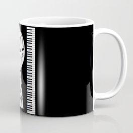 Piano Keyhole Coffee Mug