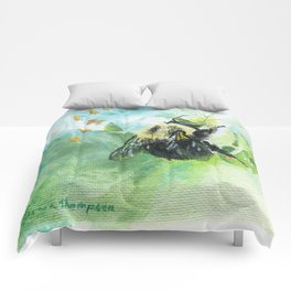 Synchronicity by Teresa Thompson Comforters