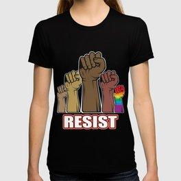 Bar resistance diversity Demonstrate gift T-shirt