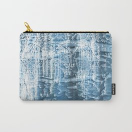 Steel blue nebulous wash drawing paper Carry-All Pouch