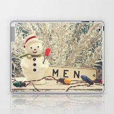 Snowmen Laptop & iPad Skin