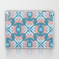 Pastel Fox Pattern Laptop & iPad Skin