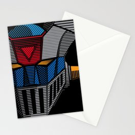 089 Mazinger Z Full Stationery Cards