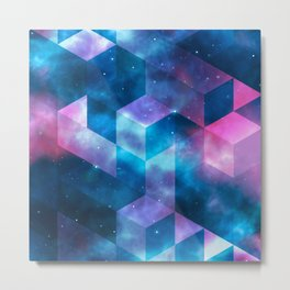 Geometrical shapes Metal Print