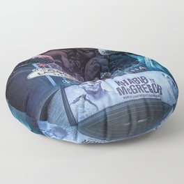 Khabib vs McGregor Floor Pillow