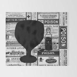 Poison Throw Blanket
