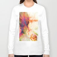 contact Long Sleeve T-shirts featuring Contact by Ganech joe