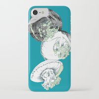 jelly fish iPhone & iPod Cases featuring Jelly Fish by Eleanor V R Smith