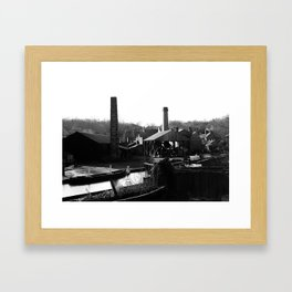 Mikhin Photography - Home of the Peaky Blinders Framed Art Print