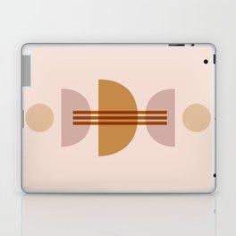 Amber Abstract Half Moon 1 Laptop & iPad Skin