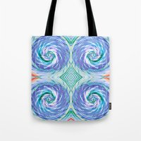 bread Tote Bags featuring Bread Basket by Truly Juel