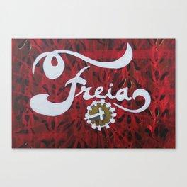 Freia Canvas Print
