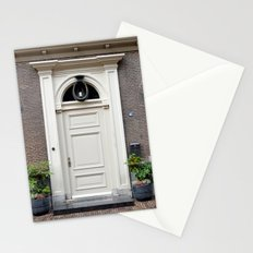 White church door Stationery Cards