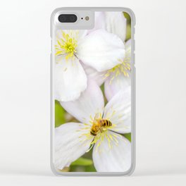 Spreading the pollen. Clear iPhone Case