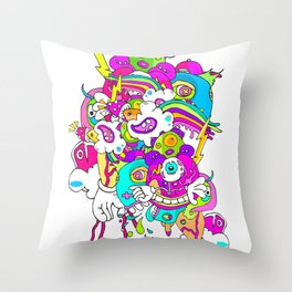 #LEVELUP Throw Pillow