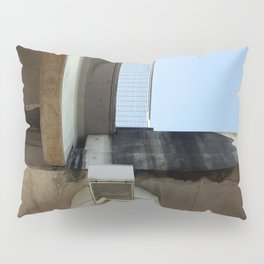 Cityscape Looking Up Pillow Sham