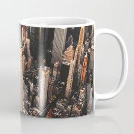 manhattan aerial view Coffee Mug