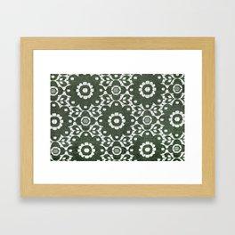 Flowers Wire 5057 Framed Art Print