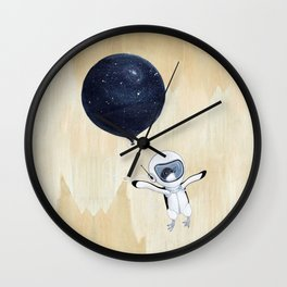 Penguin fly Wall Clock