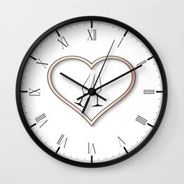 Love Celebration Wall Clock