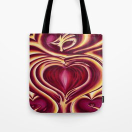4 of hearts Tote Bag