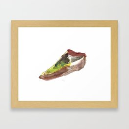 Watercolor Wingtip #1 Framed Art Print