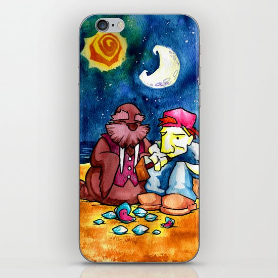 The Walrus and the Carpenter iPhone & iPod Skin